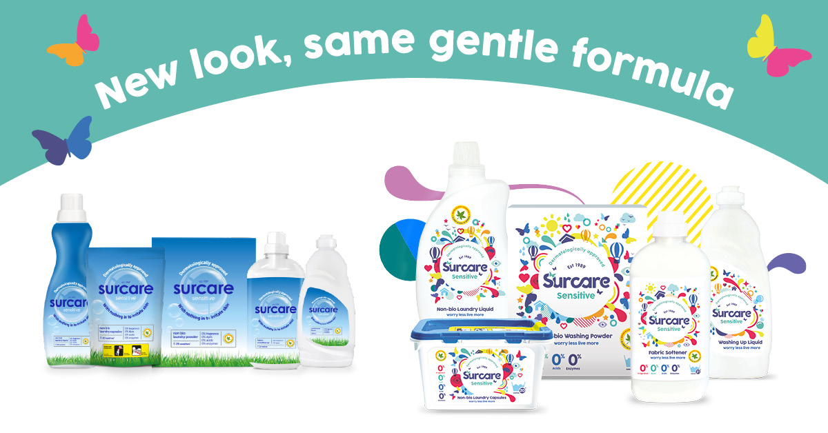 New surcare packaging