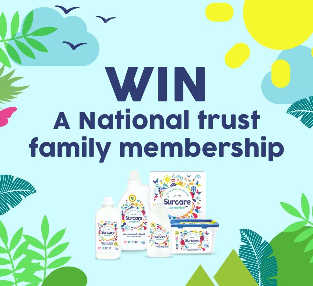 WIN a National Trust Family Membership