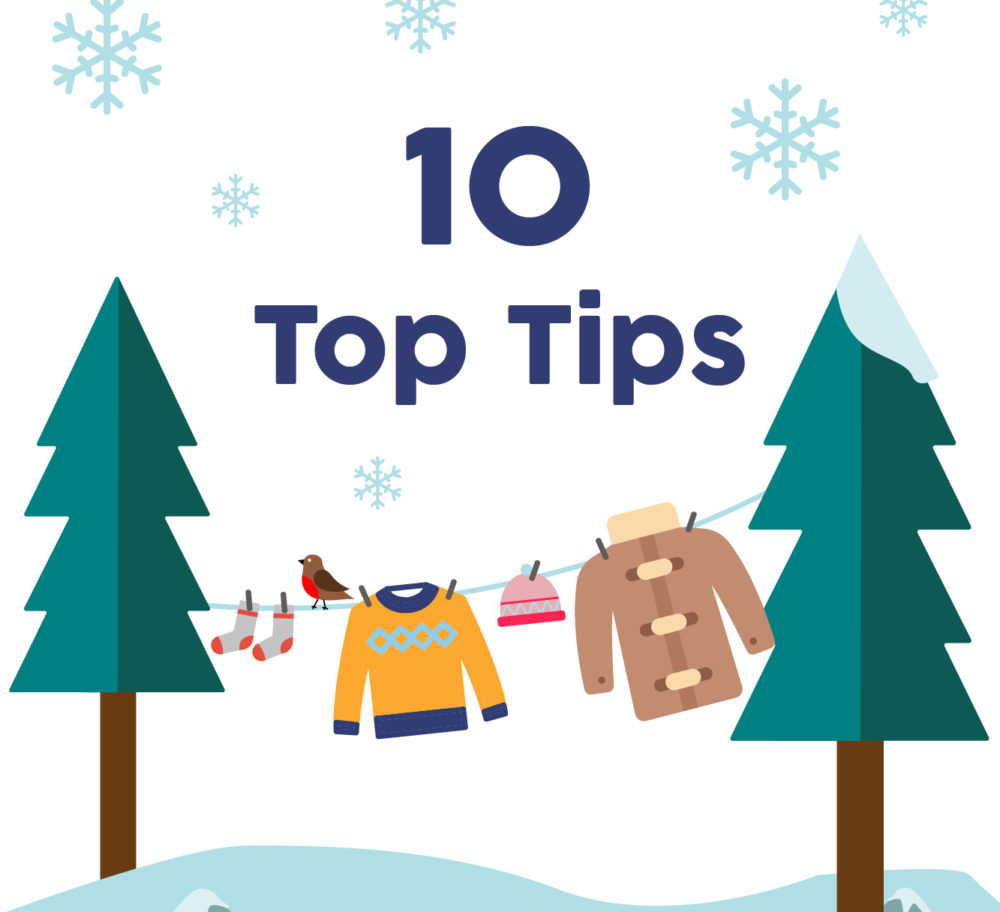 10 Top Tips For Laundry In The Winter Months